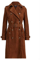 Polo Ralph Lauren Suede Trench Coat