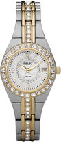 JCPenney RELIC Relic Womens Two-Tone Watch ZR11775