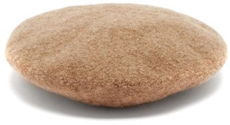 LAUREN MANOOGIAN Felted Boucle Beret - Camel