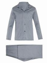 Derek Rose Cotton-jersey pyjama set