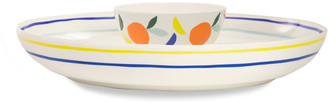 Kate Spade Citrus Twist Chip & Dip Bowl