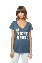 Local Celebrity All Night Wrong Jovi Tee in Midnight Navy