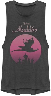 Disney Juniors' Disney's Aladdin Magic Carpet Ride Graphic Muscle Tank
