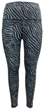 Ideology High-Rise Animal-Print Leggings, Created for Macy's
