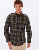 Ben Sherman LS Placed Herringbone Check Shirt
