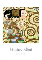 Gustav 1art1 Posters Klimt Poster Art Print - The Waiting (39 x 28 inches)