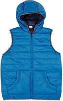 HUGO BOSS REVERSIBLE DOWN HOODED PUFFER VEST