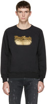 Marc Jacobs Black Hot Dog Pullover