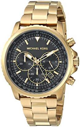 Michael Kors Men's Theroux Analog-Quartz Watch with Stainless-Steel-Plated Strap