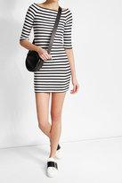 Zoe Karssen Striped Dress with Bardot Neckline