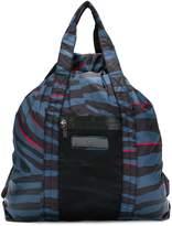adidas by Stella McCartney animal stripe-style tote bag