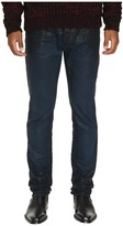 Just Cavalli Essential Slim Fit Dye and Skin Effect Denim Men's Jeans