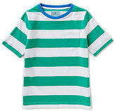 Class Club Big Boys 8-20 Striped Short-Sleeve Patch-Pocket Tee