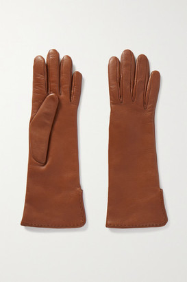 Loro Piana Leather Gloves - Tan