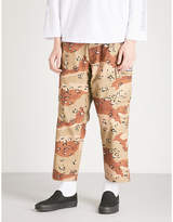 Obey Fubar camo-print cotton-canvas trousers