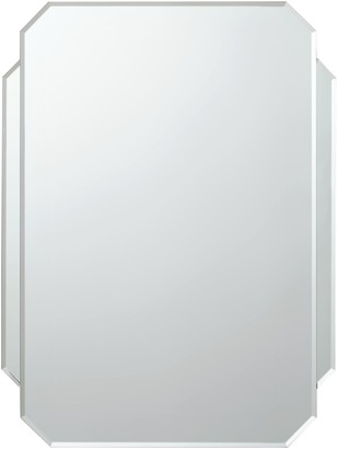 John Lewis & Partners Deco Glass Wall Mirror