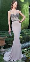 Tarik Ediz Heidi Evening Dress