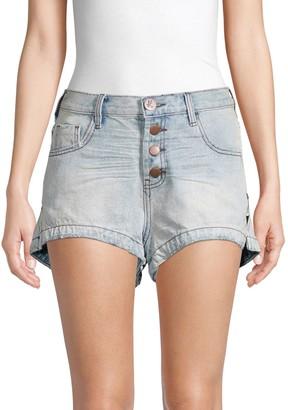 One Teaspoon Romeos Denim Shorts