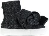 Joshua Sanders bow sock-sneakers