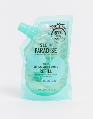 Isle of Paradise Self-Tanning Water Refill Pouch Medium 200ml