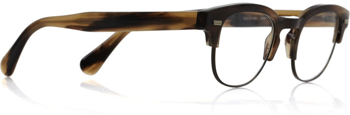 Oliver Peoples Barrie round-frame acetate glasses