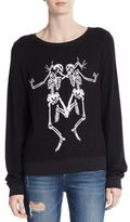 Wildfox Couture Dancing Skeletons Pullover
