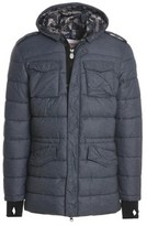 Invicta Men's Blue Polyamide Down Jacket.