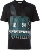 McQ by Alexander McQueen Electro Bunny print T-shirt