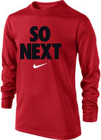 Nike Long-Sleeve Graphic Cotton Tee - Boys 8-20
