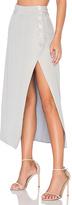 Dream Kenni Midi Skirt in Gray. - size 2 / M (also in )