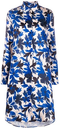 Boutique Moschino Floral Print Shirt Dress
