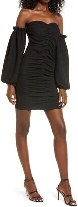 Vero Moda Kira Off the Shoulder Minidress