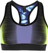 Monreal London Reversible Printed Stretch-Jersey Sports Bra