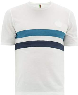 Iffley Road Cambrian Striped T-shirt - Mens - White Multi