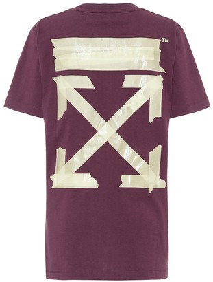 Off-White Off White Oversized printed cotton T-shirt