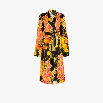Dries Van Noten Charly floral print kimono coat