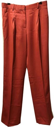 Jonathan Saunders Multicolour Viscose Trousers