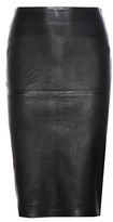 By Malene Birger Floridia leather skirt