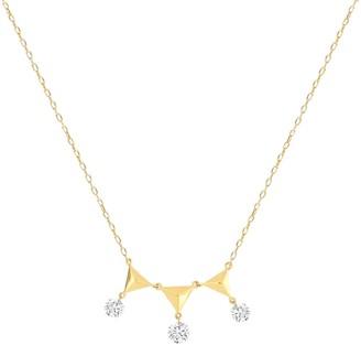 Khoe Jewellery Amy Diamond Necklace in 18K Yellow Gold