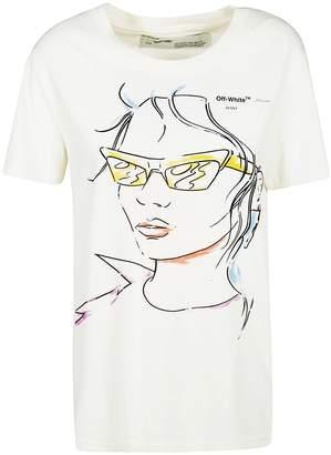 Off-White Off White Sunglasses T-shirt