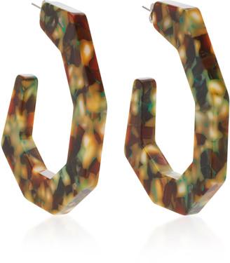 Rachel Comey Factor Acrylic Hoop Earrings