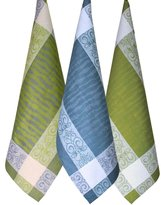 Manifica Collection, 3-pieces Luxury European Dish Towel Set by Armani International