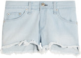 Rag & Bone Cut-off Denim Shorts - Light denim