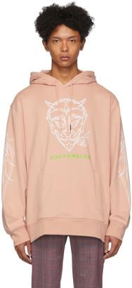 Rochambeau Pink Devil Core Hoodie