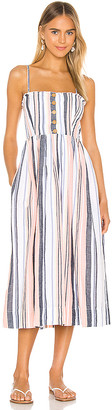 Free People Lilah Pleated Tube Dress