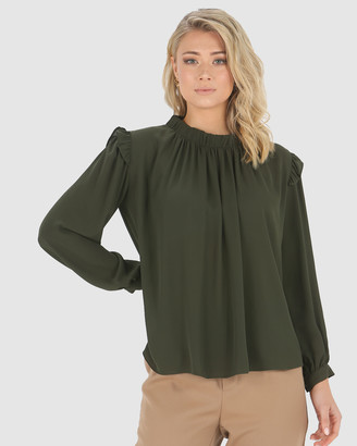 Privilege Daydreamer Frill Top