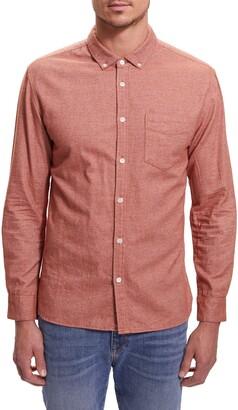 BLDWN Hansen Regular Fit Button-Down Flannel Shirt