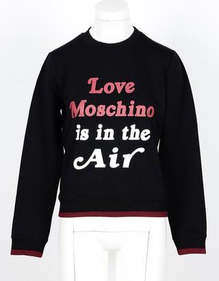 Love Moschino Women's Black Sweatshirt