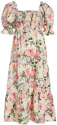 Faithfull The Brand De Christin Midi Dress