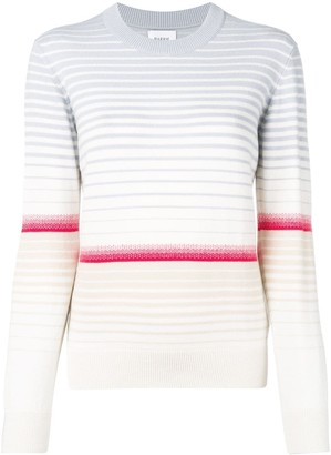 Barrie Colour-Block Striped Sweater